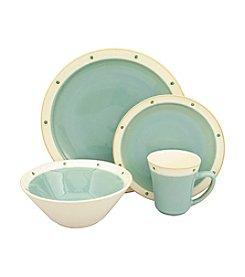Sango Newport Aqua 16-pc. Dinnerware Set