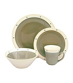 Sango Newport Avocado 16-pc. Dinnerware Set