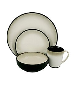 Sango Nova Black 16-pc. Dinnerware Set