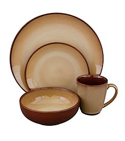 Sango Nova Brown 16-pc. Dinnerware Set