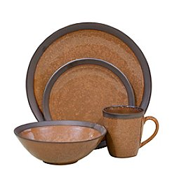 Sango Omega Cocoa 16-pc. Dinnerware Set