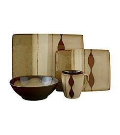 Sango Prelude Brown 16-pc. Dinnerware Set
