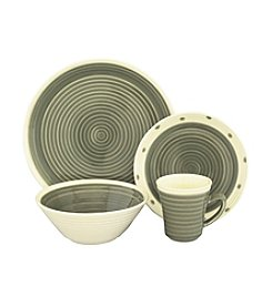 Sango Rico Grey 16-pc. Dinnerware Set