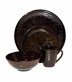 Sango Spectrum Black 16-pc. Dinnerware Set