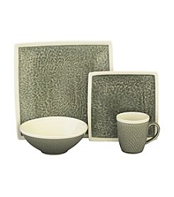 Sango Vega Grey 16-pc. Dinnerware Set
