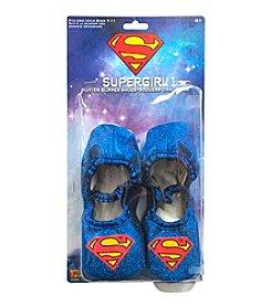 DC Comics® Supergirl Classic Glitter Slipper Child Shoes