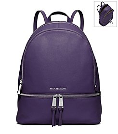 MICHAEL Michael Kors® Rhea Large Leather Backpack