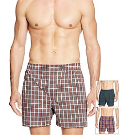 Polo Ralph Lauren® Men's 3-Pack Woven York Boxers