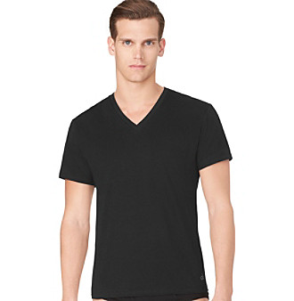 Calvin Klein Men's 3-Pack Slim Fit V-Neck Tee