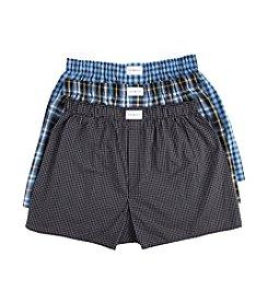 Tommy Hilfiger® Men's 3-Pack Woven Plaid Boxers
