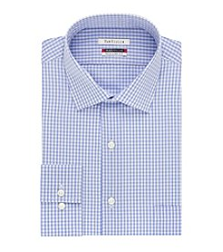 Van Heusen® Men's Flex Collar Grid Pattern Regular Fit Dress Shirt