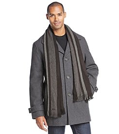 Calvin Klein Men's Wool Car Coat