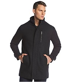 Calvin Klein Men's Wool Coat With Bib