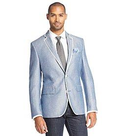 Tallia Orange Men's Herringbone Sportcoat