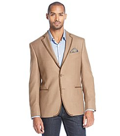 Tallia Orange Men's Contrast Piping Sport Coat