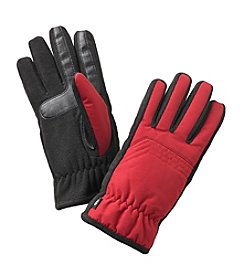 Isotoner Signature® Men's Smartouch Tessa Nylon Glove