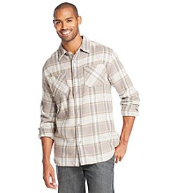 Ruff Hewn Men's Long Sleeve 2 Pocket Flannel Shirt