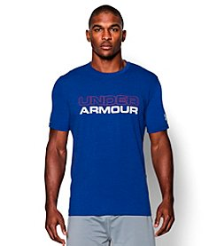 Under Armour Men's Short Sleeve Crew Neck Wordmark T-Shirt
