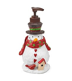 Saturday Knight, Ltd.® Snowman With Bird Lotion Pump