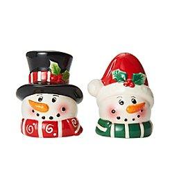 Pfaltzgraff® Snowmen Salt & Pepper Shaker