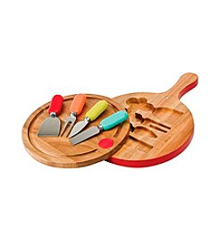Fiesta® Paddle Board Cheese Set And Tools
