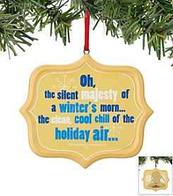 Department 56® Chemical Toilet Sentiment Ornament