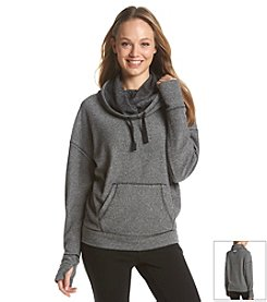 Kensie® Performance Funnel-Neck Pullover