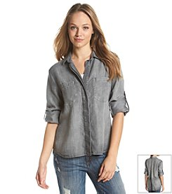 Cloth & Stone® Split Back Shirt