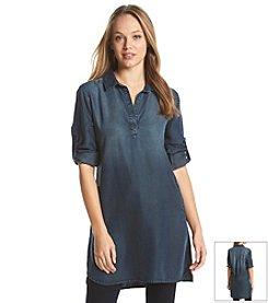 Cloth & Stone® A-Line Shirt Dress