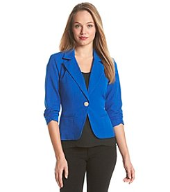 XOXO® Cropped Blazer Jacket