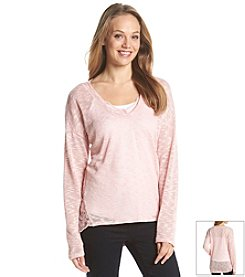 Jessica Simpson Lace Hacci Sweater