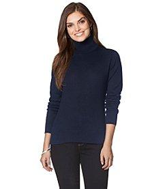 Chaps® Cotton Turtleneck Sweater