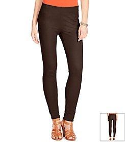 Lauren Ralph Lauren® Stretch Cotton Skinny Pants