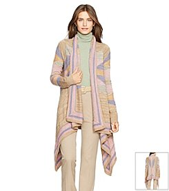 Lauren Ralph Lauren® Geometric Cotton-Wool Sweater