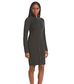 Calvin Klein Zip Sweater Dress