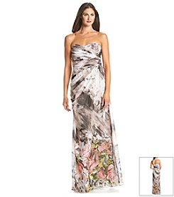 Adrianna Papell® Floral Chiffon Dress