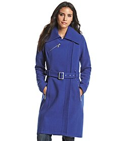BCBGeneration™ Asymmetrical Belt Coat