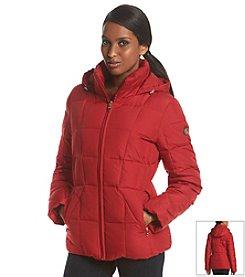 Calvin Klein Untrimmed Hooded Short Down Coat