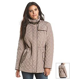 Cole Haan® Quilted Anorak Coat