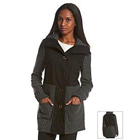 ruff hewn GREY Sweater Canvas Coat