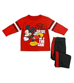 Nannette® Boys' 2T-4T Mickey Mouse® Catch Me If You Can Pants Set