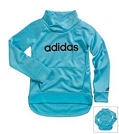 adidas® Girls' 2T-6X Drop Kick Pullover Top