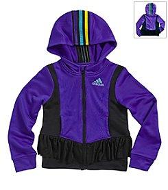adidas® Girls' 2T-6X Twirl Trainer Jacket