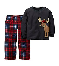 Carter's® Boys' 12M-12 Two-Piece Im Not AMooseD Pjs