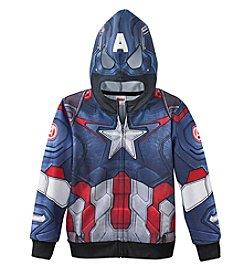 Marvel® Boys' 4-7 Captain America® Super Suit Hoodie