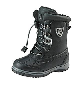 Sporto® Boys' Laceup Fur Boots