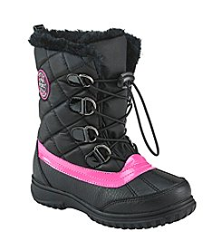 Sporto® Girls' Laceup Fur Boots
