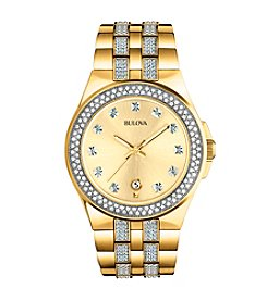 Bulova® Women's Crystal Pave Watch