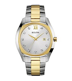 Bulova® Women's Diamond Two Tone Watch