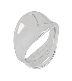 Robert Lee Morris Soho™ Silvertone Sculptural Ring